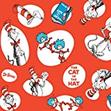 BirthdayExpress Dr Seuss Party Supplies - Jumbo Gift Wrap