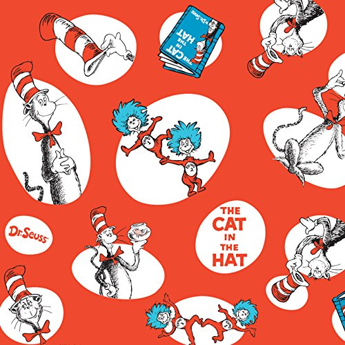 BirthdayExpress Dr Seuss Party Supplies - Jumbo Gift Wrap