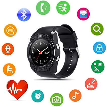Amazon.com: Umiwe Bluetooth Smart Watch, Fitness Wrist Watch ...