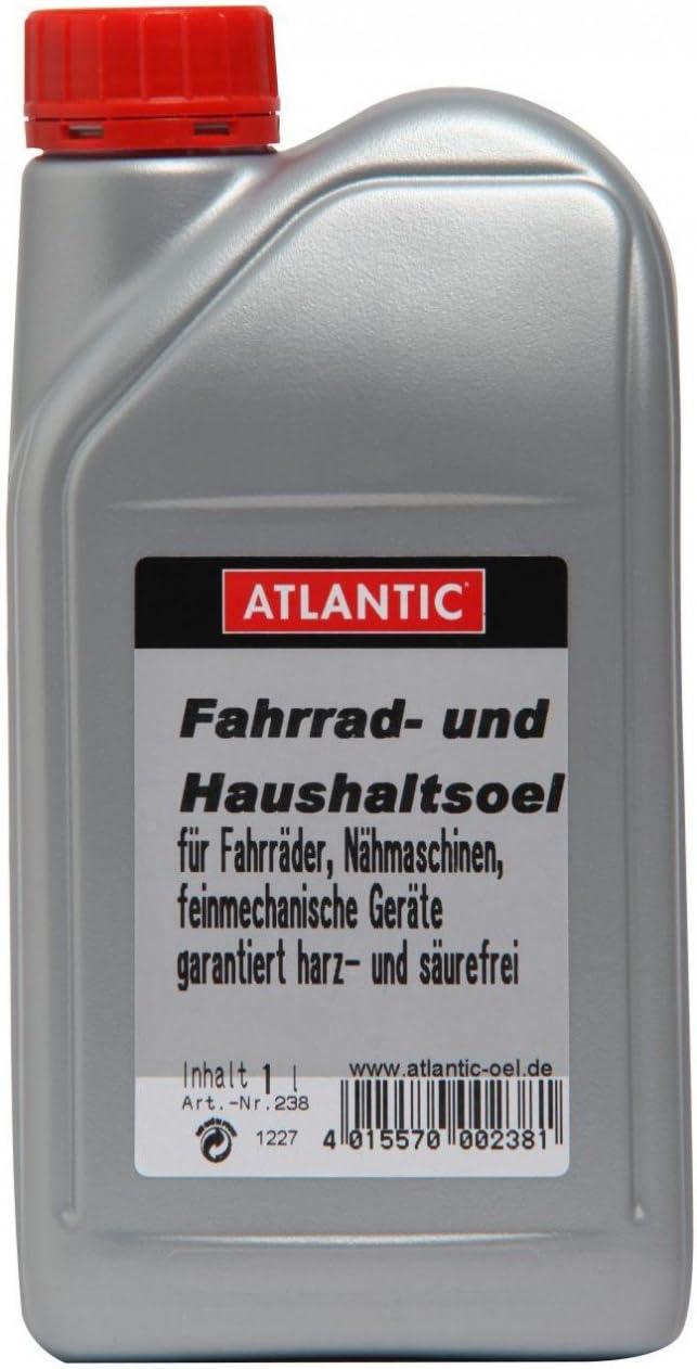 Atlantic Fahrrad Silber 1 L und Haushalts-/Öl 238 U