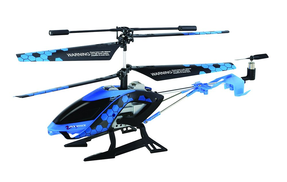 Sky Rover Stalker, 3 Channel IR Gyro Helicopter, Blau Vehicle by SkyRover