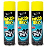 Invisible Glass 91164-3PK Premium Glass Cleaner 19-Ounce Can-Case of 3, 57. Fluid Pack