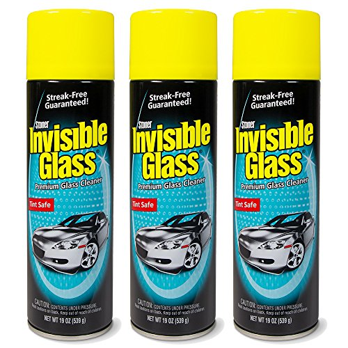3-Pack Invisible Glass Premium Glass Cleaner