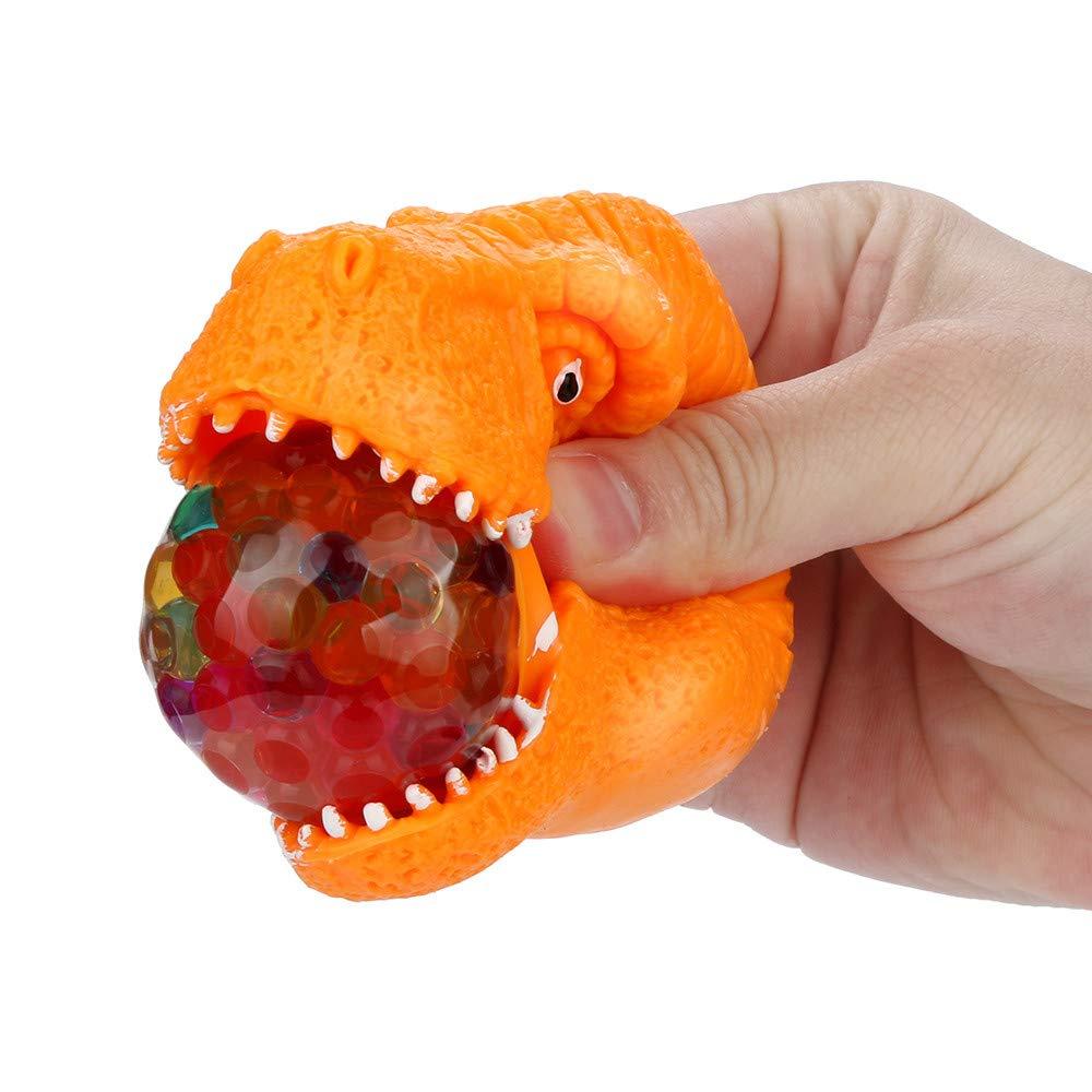 【お取り寄せ】 Gbell キッズ 不安解消 スクイーズ 女の子 恐竜ボール おもちゃ 恐竜 スクイーズ おもちゃ 恐竜ボール レインボー スポンジビーズ 男の子 女の子 大人用 不安解消 ストレスボール 3ドル未満 B07K1BJ1FS オレンジ オレンジ, GOODTILESHOPグッドタイルショップ:96d90d23 --- beyonddefeat.com