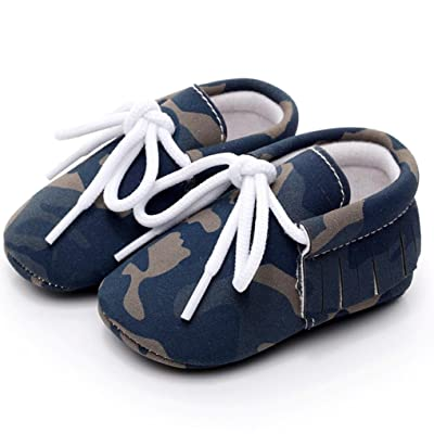 01cbc89e6 Kimanli Baby Girls Boys Camouflage Fashion Shoes Sneaker Anti-slip Soft  Shoes