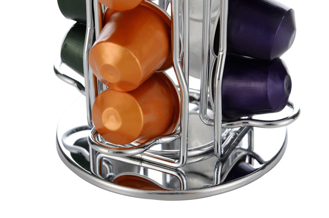 Meelio Nespresso Cápsulas de café Carrusel de soporte, 40 vainas Nespresso (vainas de café no incluidas): Amazon.es: Hogar