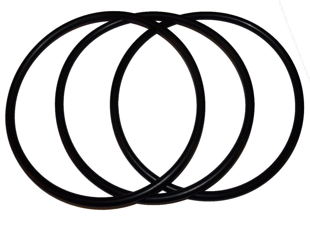 (3 Pack) Pentek, Pentair 350013 Lid O-Ring - Replacement Pool and Spa Pump ORing by Captain O-Ring