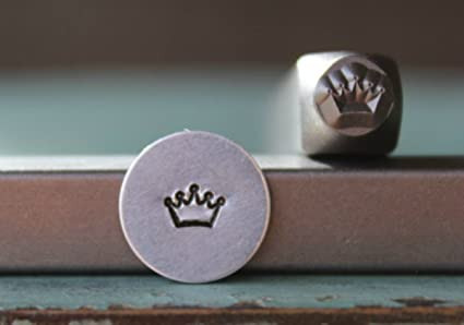 Amazon 5mm Crown Metal Punch Design Jewelry Stamp Arts Crafts
