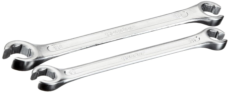 Famex 10355 - Juego de llaves de boca abierta para frenos (2 piezas, 10 x 11 mm y 12 x 13 mm) 10355-2