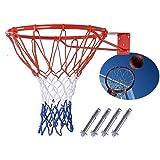 Basketball Hoop Net Ring Wall Mounted Outdoor Hanging Basket, 45 cm
