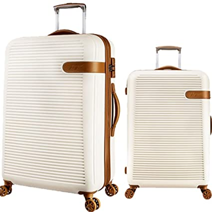 4fd8925e122c Amazon.com: Suitcase Set 20in 24in Hardshell 2 Piece Spinner Luggage ...