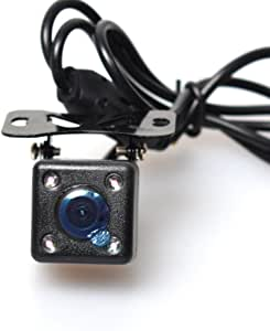 Car Auto Automotive Front View Forwards Camera 4 Infared Night Vision IR Lights Free 6M / 20FT RCA Video Extension Cable Automatic