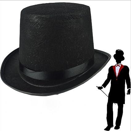 Amosfun Black Bowler Hat Sombrero de Mago Disfraz de Disfraz para Hombres  Disfraz de Disfraces de Halloween para Adultos Disfraces de Halloween   Amazon.es  ... 78feb7982c1