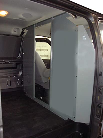 Chevy Express Van >> Amazon Com Van Safety Partition Bulkhead Opening In The Center Gmc