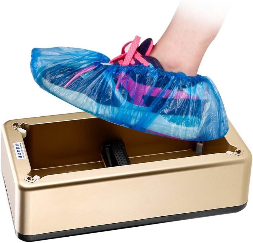 Dispenser per copriscarpe Invecchiamento non facile Pratico distributore automatico di copriscarpe automatico antiscivolo Scarpe per scarpe Copriscarpe per famiglia//Ospedali//Sale computer