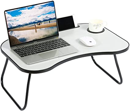 YUSONG Mesa de Regazo, Mesa portátil para Ordenador portátil con ...