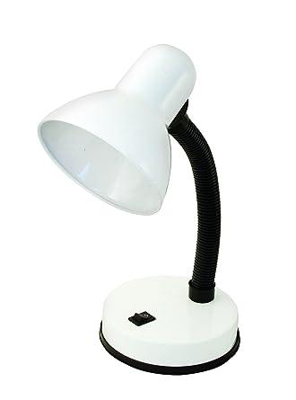Velamp tl1201-b Charleston lámpara de mesa E27: Amazon.es: Iluminación