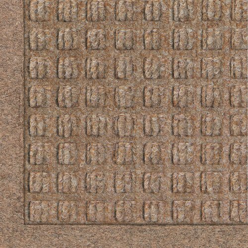 Andersen 280 WaterHog Fashion Polypropylene Fiber Entrance Indoor/Outdoor Floor Mat, SBR Rubber Backing, 27'' Length x 18'' Width, 3/8