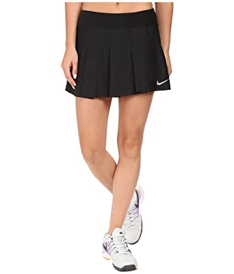 Nike Women's Court Power Premier Tennis Skirt Black/White Skirt