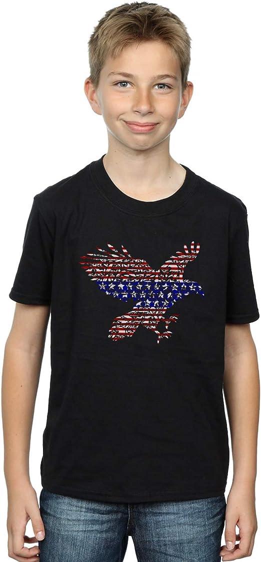 Drewbacca Niños American Eagle Camiseta Negro 7-8 Years: Amazon.es ...