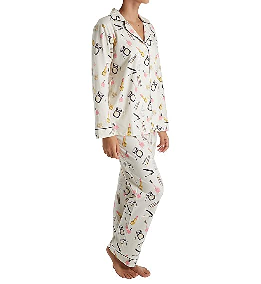 BedHead Women s Long Sleeve Long Pajamas at Amazon Women s Clothing store  bfb105a40