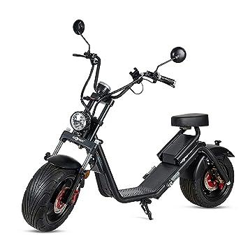 VIRTUE Moto electrica Matriculable Scooter de 1200w bateria ...