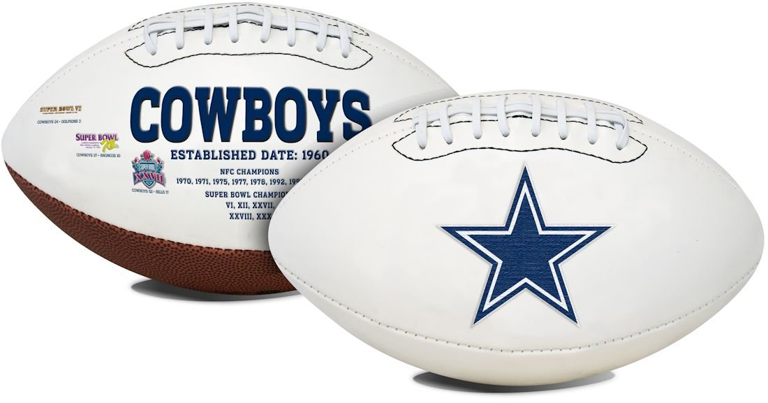 K2 Dallas Cowboys Signature Series Football