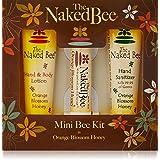 The Naked Bee Orange Blossom Honey Bee Kit 3 Piece Kit