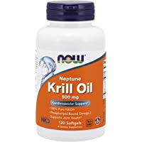 Now Supplements, Neptune Krill Oil, Phospholipid-Bound Omega-3, 120 Softgels