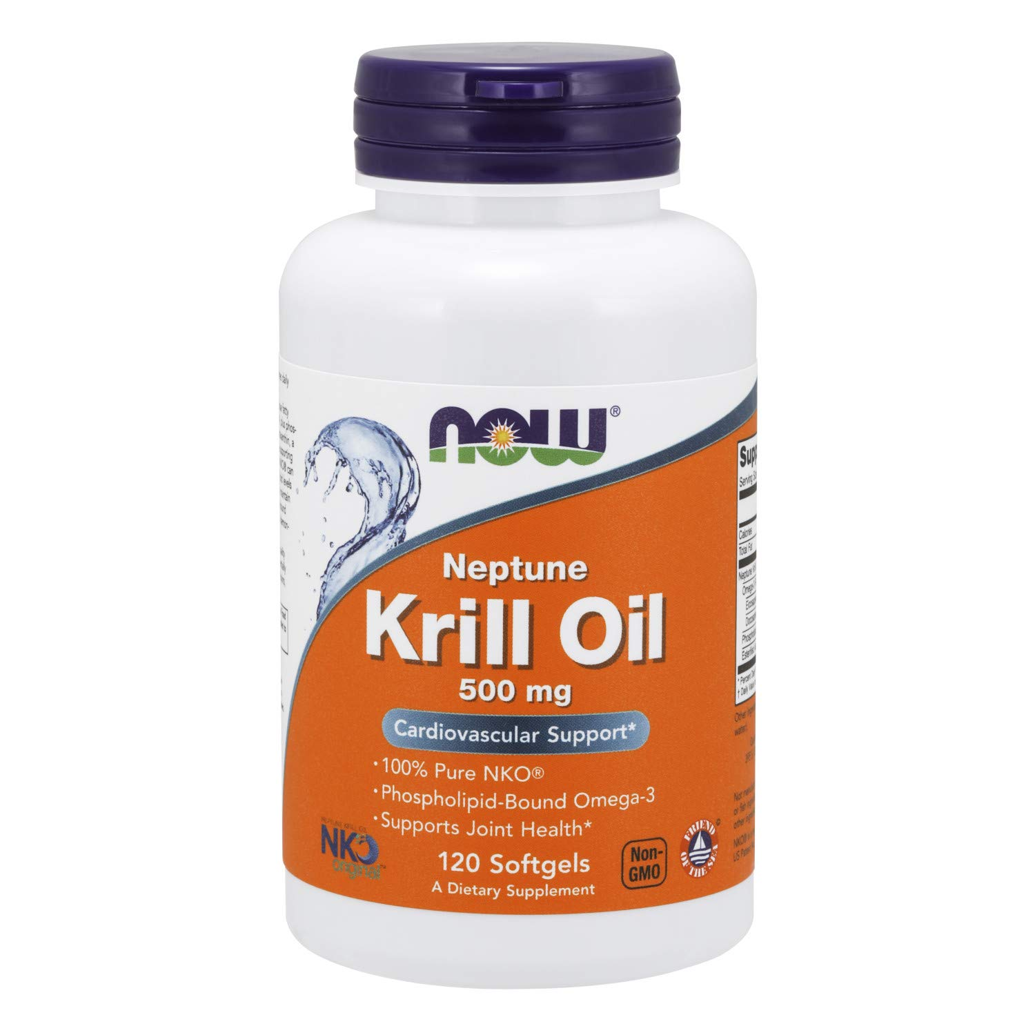 Now Supplements, Neptune Krill Oil, Phospholipid-Bound Omega-3, 120 Softgels by NOW Foods