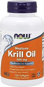 Now Foods Neptune Krill Oil, Phospholipid-Bound Omega-3, 120 Softgels