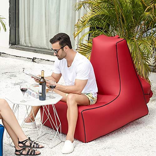Baisde Aufblasbarer Klubsessel Bequemes Liege-Sofa Kompaktes Leichtes Leichtes Leichtes Langlebiges Couchhaus B07L8T9HSW Luftmatratzen Wirtschaftlich und praktisch 71dc01