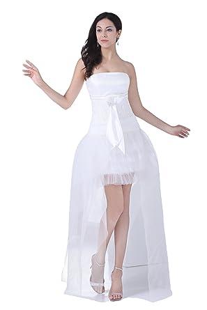 可愛いミニドレス 白 パーティー ドレス ミニ aラインワンピース ウェディングドレス 二次会 ミニ ロングドレス