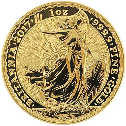 2017 UK U.K. 100 Pound 1 oz Gold Britannia - Brilliant Uncirculated