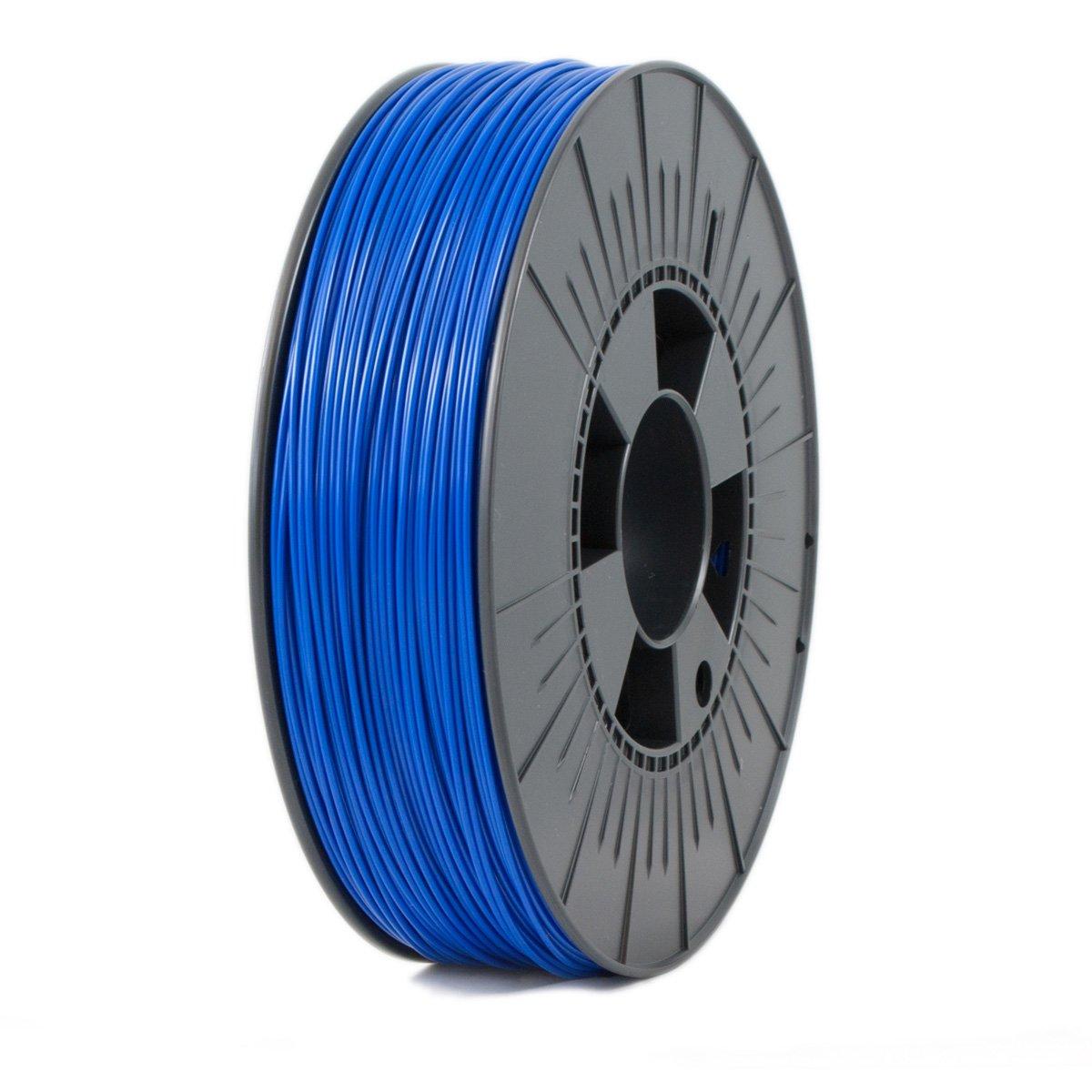 Ice Filaments ICEFIL1PLA105 Filamento PLA, 1,75 mm, 0,75 kg, Azul Oscuro