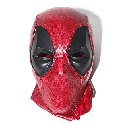 ZYER - Máscara de látex para Disfraz de Deadpool para Adultos y ...