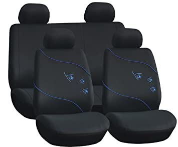 Start - Juego Completo de Fundas para Coche Summer - Color Azul - Accesorios para automóviles: Amazon.es: Coche y moto