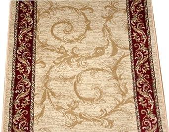 Amazon Com Dean Tan Scrollworks Carpet Rug Hallway Stair