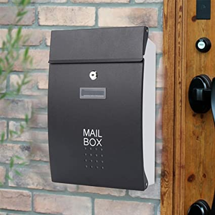 XY Wall Mount Letterboxes Mailbox   Stainless Steel, European Villa Outdoor  Waterproof And Rainproof