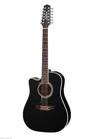 TAKAMINE ef381sc acústica de 12 cuerdas guitarra eléctrica zurdos: Amazon.es: Instrumentos musicales