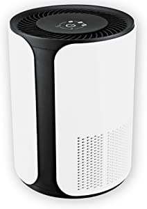Medify MA-18 Medical Grade H13 True HEPA Filtration Air Purifier for 400 Sq. Ft. (99.97%) | Allergies, Dust, Pollen. Perfect for Office, Bedrooms, Dorms or Baby Nurseries - White