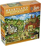 MasterPieces Heartland Collection Friday Night Hoe Down Jigsaw Puzzle, 500-Piece