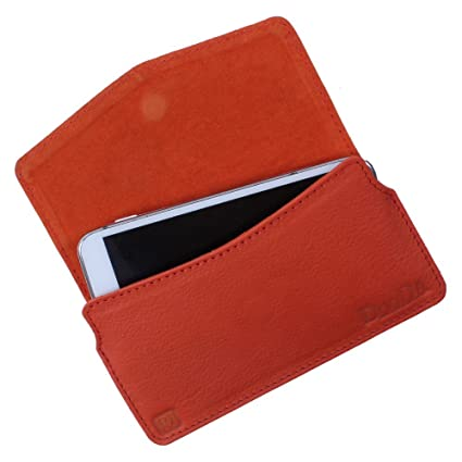 Amazon.com: DooDa Genuine Real Leather Pouch Case With ...