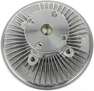 IRONTEK F4UZ8A616-A Radiator Fan Clutch FITS 1990-1991 Dodge Dakota, 1988-1996 Ford F-150 F-250 F-350 Bronco E-150 E-250 E-350, 1984-1985 Ford LTD Ford Engine Cooling Fan Clutch