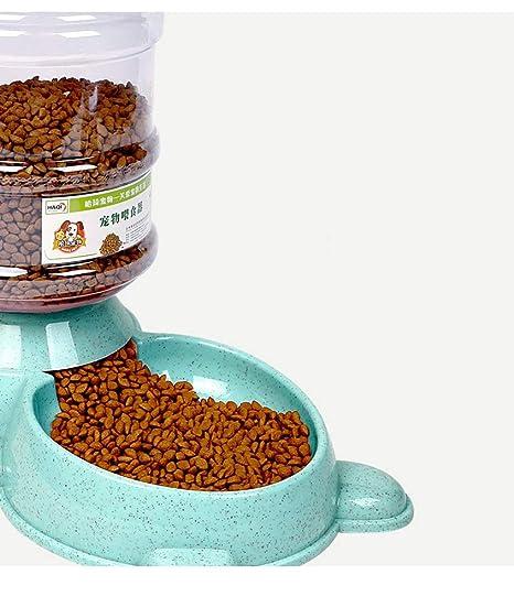 LLYU Alimentador automático de Mascotas, alimentador de Mascotas para Perros y Gatos, Mascota,