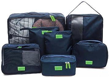 PDR - Organizador para maletas azul marino talla única: Amazon.es: Equipaje