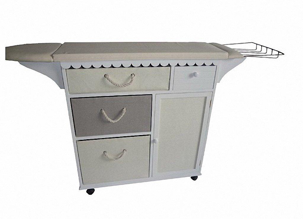 Mueble para la plancha affordable incluyen un soporte for Mueble planchador ikea
