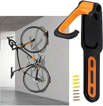 Soporte de pared plegable vertical para bicicletas para todo tipo de bicicletas.: Amazon.es: Bricolaje y herramientas