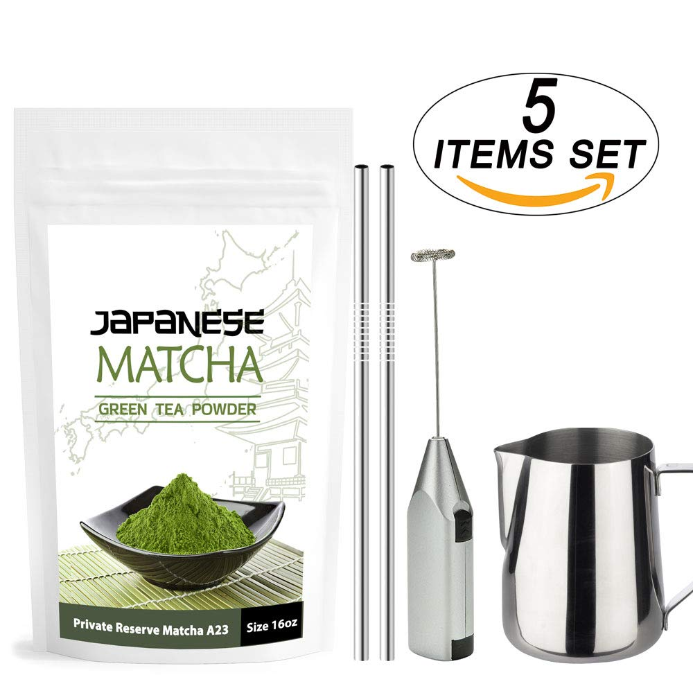 Ceremonial Grade Japanese Matcha 5 Items Set  2a1006849
