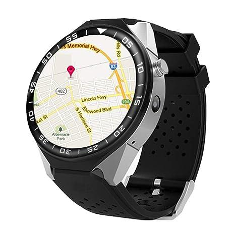 T9 Android 5.1 Bluetooth Smart Watch 3G WIFI GPS tarjeta SIM ritmo cardíaco reloj inteligente con